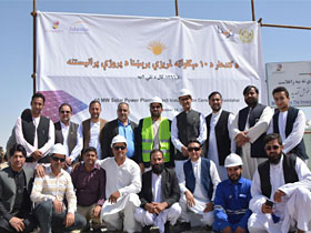 10 MW Photovoltaic Power Plant in Kandahar