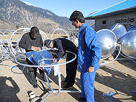 1000 Solar Home Systems and 300 solar cooker for Swat Valley, Pakistan 2011