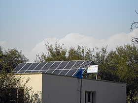 Solar Power System on Allahi Girl's School in Nangahar, Afghanistan